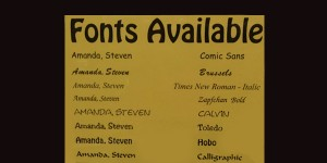 Avail_Fonts